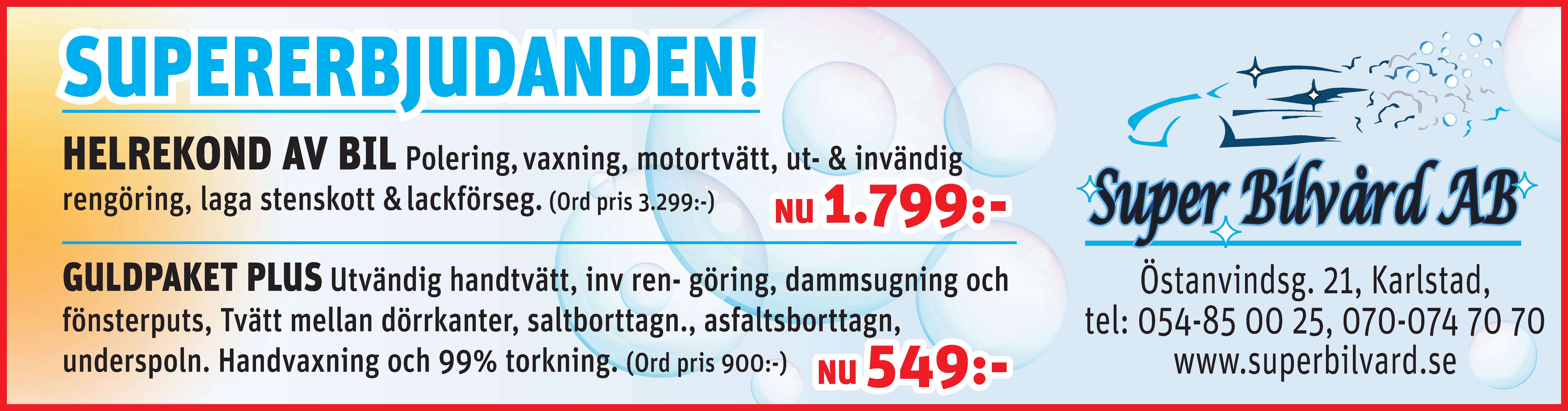 0128 Karlstads Bilvård